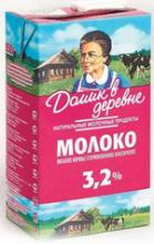 """Молоко """"Домик в деревне"""" 3.2%"""
